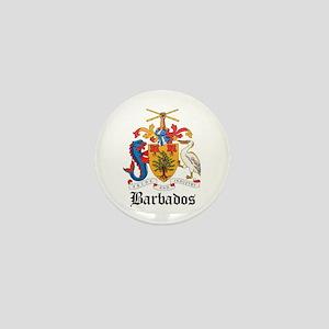 Barbadian Coat of Arms Seal Mini Button