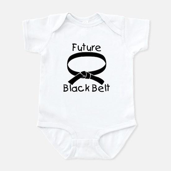 Future Black Belt Infant Bodysuit