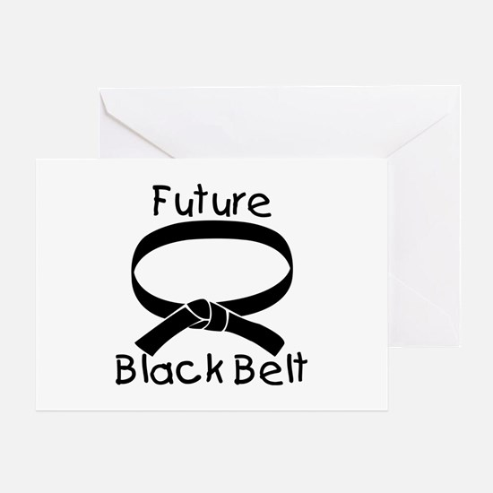 Future Black Belt Greeting Card