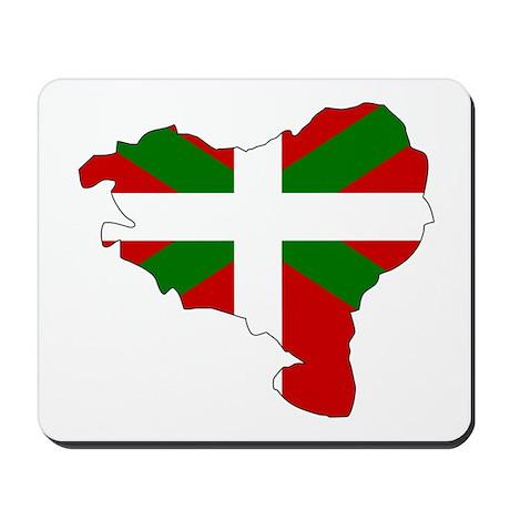 Basque Flag Map Mousepad