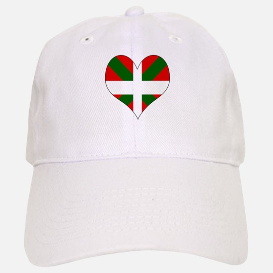 I Love Basque Baseball Baseball Cap