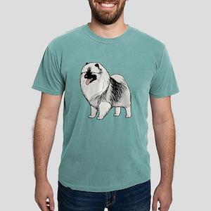 Keeshond Cream or Grey T-Shirt