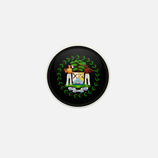 Coat of Arms of Belize Mini Button