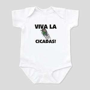 Viva La Cicadas Infant Bodysuit