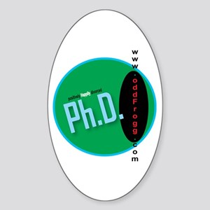 Ph.D. (Positively Happily Divorced) Bumper Sticker