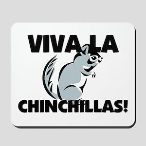 Viva La Chinchillas Mousepad