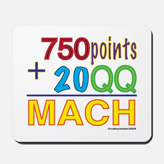 MACH formula Mousepad