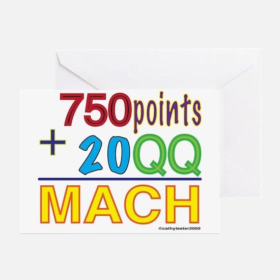 MACH formula Greeting Cards (Pk of 10)