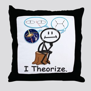 Astrophysicist Throw Pillow