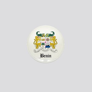 Beninese Coat of Arms Seal Mini Button