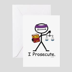 Prosecute Greeting Cards (Pk of 10)