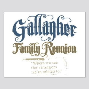 Gallagher Personalized Family Reunion Small Poster