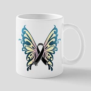 Skin Cancer Butterfly Mug