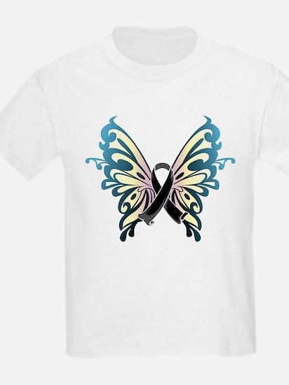 Skin Cancer Butterfly T-Shirt