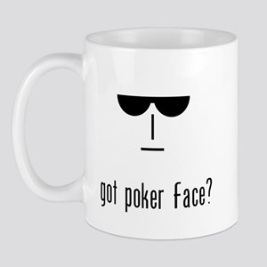 got poker face Mug