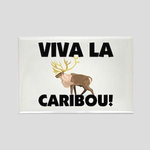 Viva La Caribou Rectangle Magnet