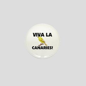 Viva La Canaries Mini Button