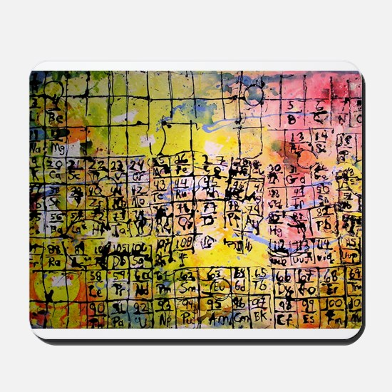 """The Periodic Table"" Mousepad"