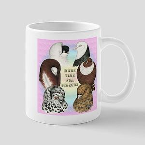 Make Time For Pigeons Mug