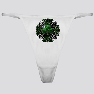 St. Patrick's Day Celtic Knot Classic Thong