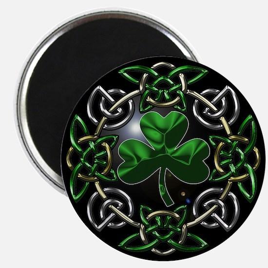 "St. Patrick's Day Celtic Knot 2.25"" Magnet (10 pac"