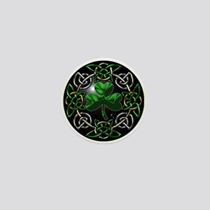 St. Patrick's Day Celtic Knot Mini Button