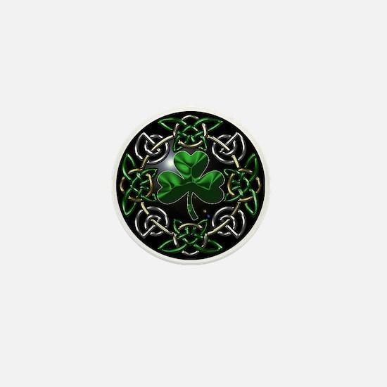 St. Patrick's Day Celtic Knot Mini Button