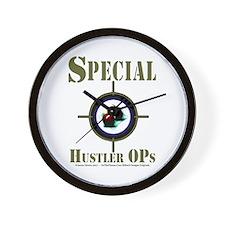 Special Hustler Ops Wall Clock