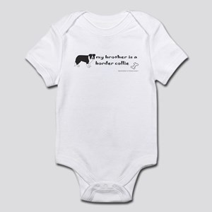 border collie gifts Infant Bodysuit