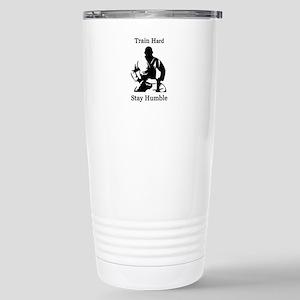 brazilian jiu jitsu t s Stainless Steel Travel Mug