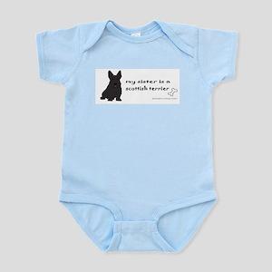 scottish terrier gifts Infant Bodysuit