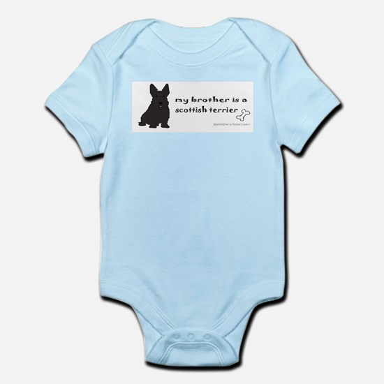 scottish terrier gifts Infant Bodysuit
