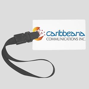 Caribbeana Logo Large Luggage Tag