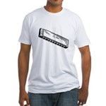 Harmonica/Blues Harp Fitted T-Shirt