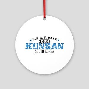 Kunsan Air Force Base Ornament (Round)