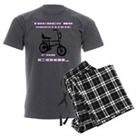Chopper Bicycle Men's Charcoal Pajamas