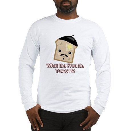 What the French Toast Kawaii Style Long Sleeve T-S