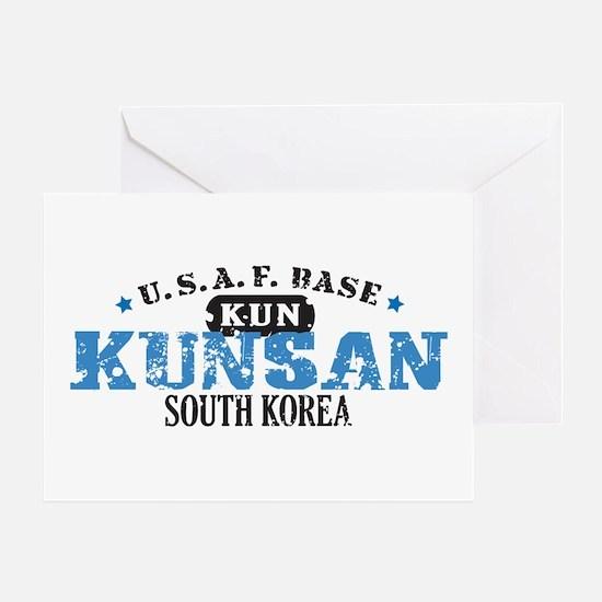 Kunsan Air Force Base Greeting Card