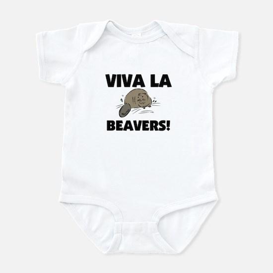 Viva La Beavers Infant Bodysuit