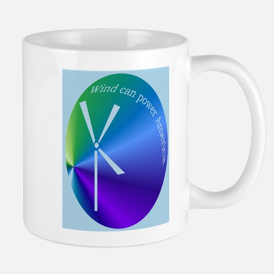 Funny Wind power Mug