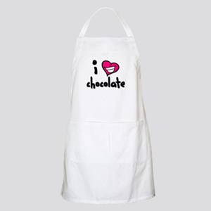 I Heart Chocolate BBQ Apron