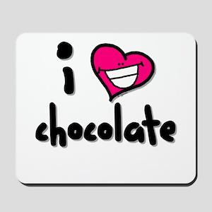 I Heart Chocolate Mousepad