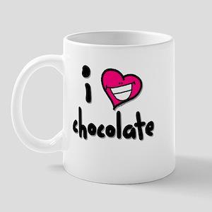I Heart Chocolate Mug