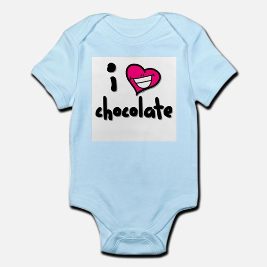I Heart Chocolate Infant Creeper