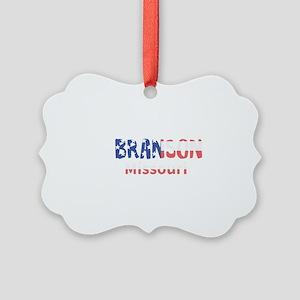 Branson Missouri Picture Ornament