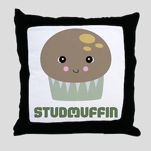 Super Cute Stud Muffin Throw Pillow