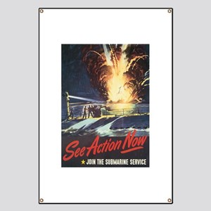 US Navy Submarine Banner