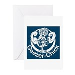 Geezer-Chick Greeting Cards (Pk of 20)