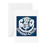 Geezer-Chick Greeting Cards (Pk of 10)