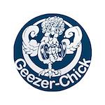 "Geezer-Chick 3.5"" Button (100 pack)"